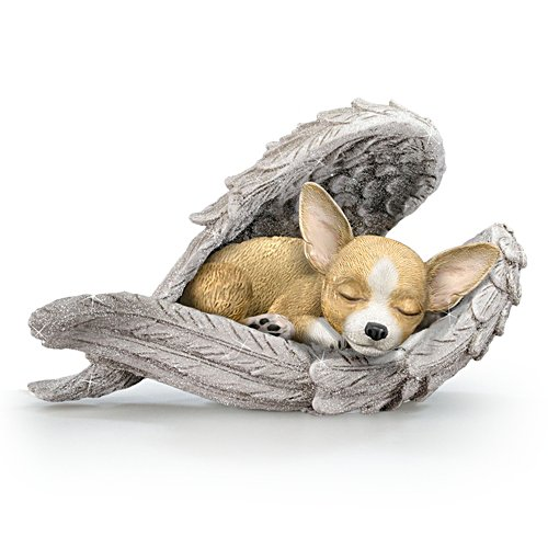 Chihuahuas Leave Paw Prints On Our Hearts' Figurine