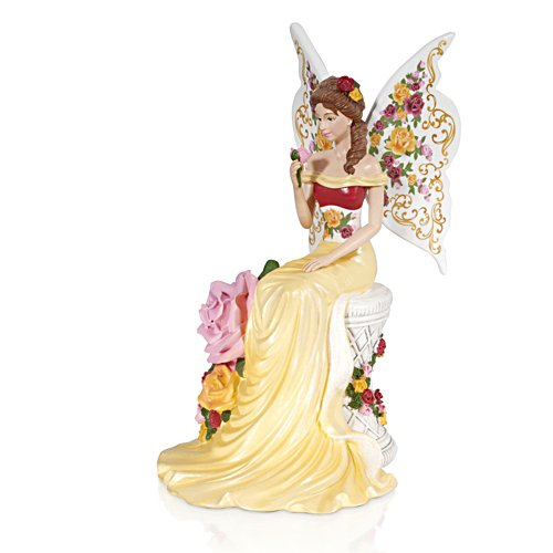 'Graceful Blossom' Angel Figurine