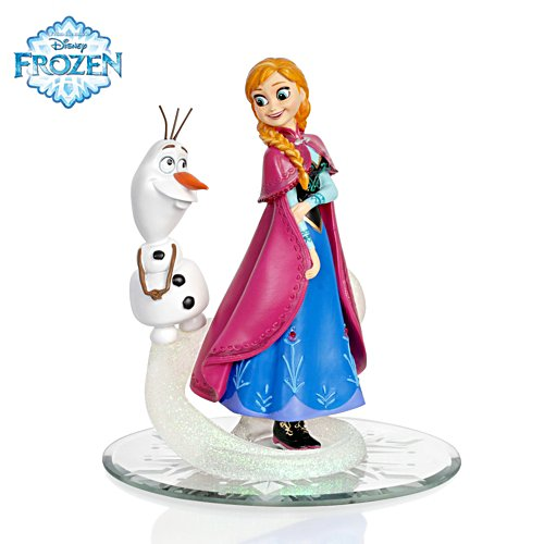 'Do You Want To Build A Snowman?' Anna And Olaf Figurine