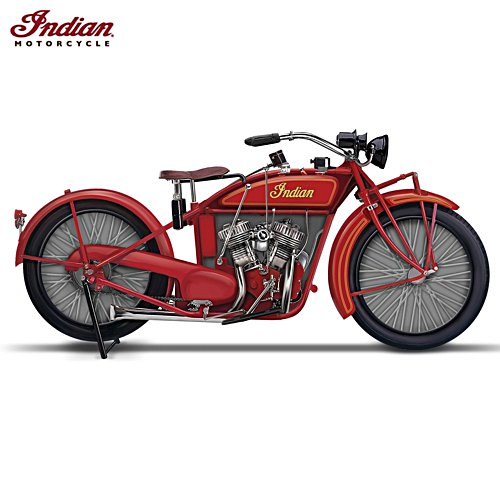 1923 Indian Motorcycle® Miniature Replica Sculpture