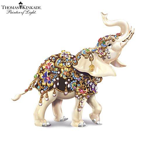 Thomas Kinkade 'Elegant Treasure' Swarovski® Elephant Figurine