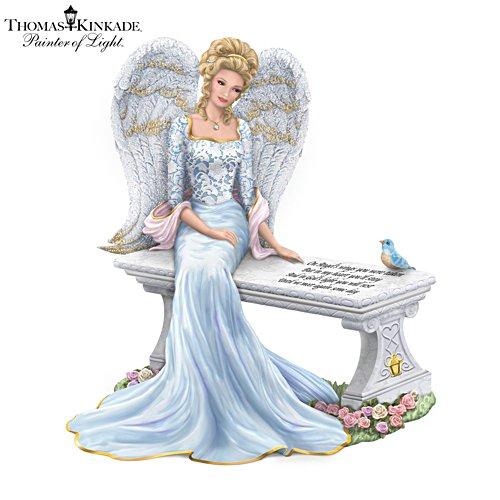 Thomas Kinkade 'Heaven's Embrace' Angel Figurine