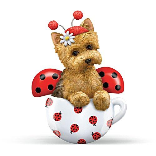 'Cute As A Bug' Yorkie Figurine