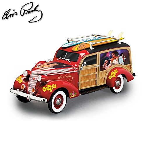 Elvis™ 'Aloha From Hawaii' Woody Wagon Sculpture