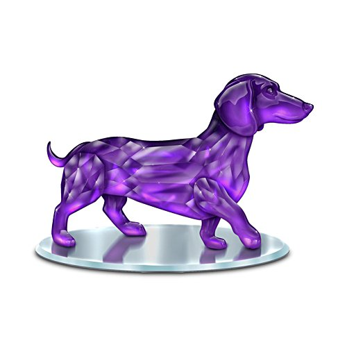 Blake Jensen 'Radiance Of The Amethyst' Dachshund Figurine