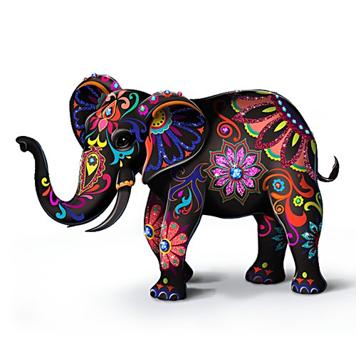 Blake Jensen 'Reign Of The Monarch' Heirloom Porcelain® Elephant Figurine