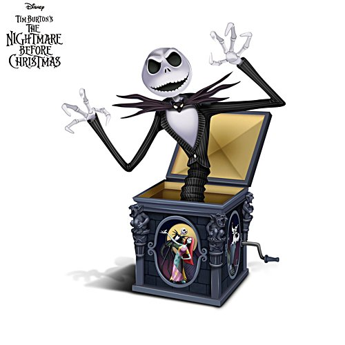 The Nightmare Before Christmas 'Jack In The Box' Jack Figurine