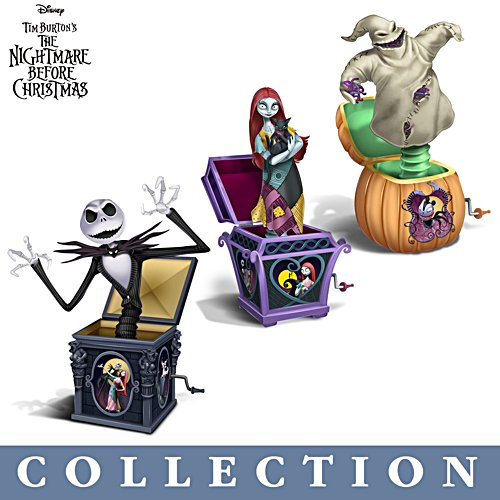 The Nightmare Before Christmas 'Jack' In The Box Figurine Collection