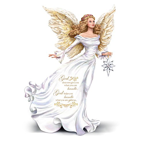 Dona Gelsinger 'My Strength, My Guide' Angel Figurine
