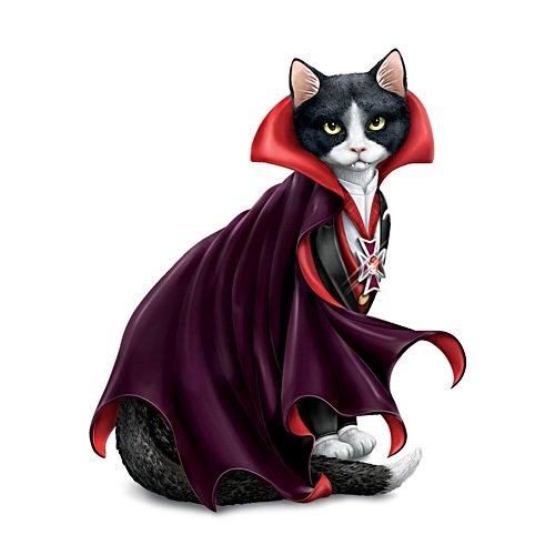 Blake Jensen 'Count Cat-ula' Vampire Cat Figurine