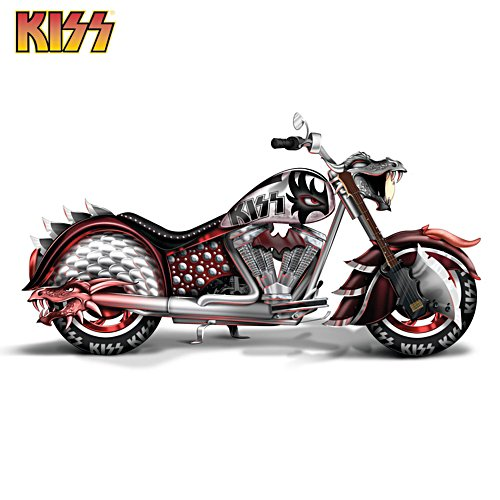 KISS® 'Rock And Roll All Nite' Motorcycle Sculpture