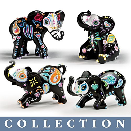 Blake Jensen 'Soulful Spirits' Elephant Figurine Collection