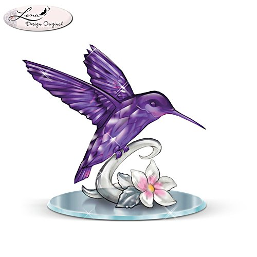 Lena Liu 'Beauty Of The Amethyst' Hummingbird Figurine