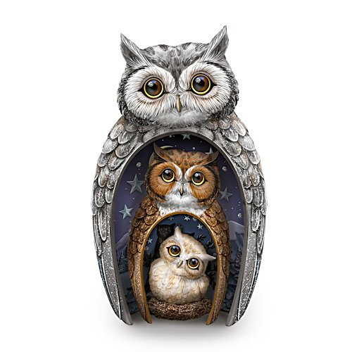 Blake Jensen 'Eyes Of Wisdom' Owls Set