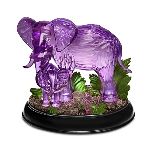 Blake Jensen 'Mystical Enchanted' Illuminated Elephant Figurine