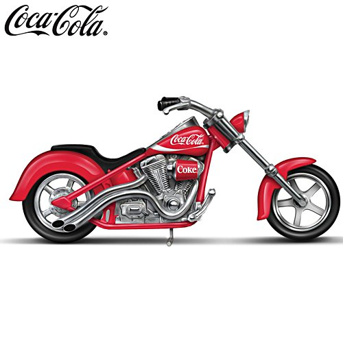 COCA-COLA® 'One Cool Ride' Motorcycle Sculpture