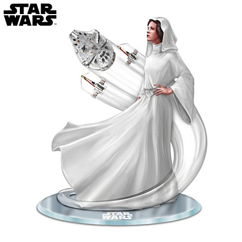 Treasured Reflections STAR WARS Princess Leia Figurine