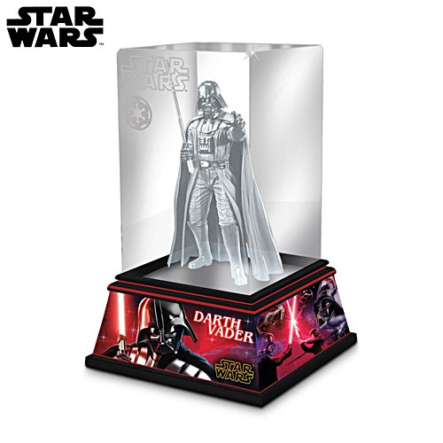 Star Wars™ 'Darth Vader' Laser-Etched Glass Sculpture