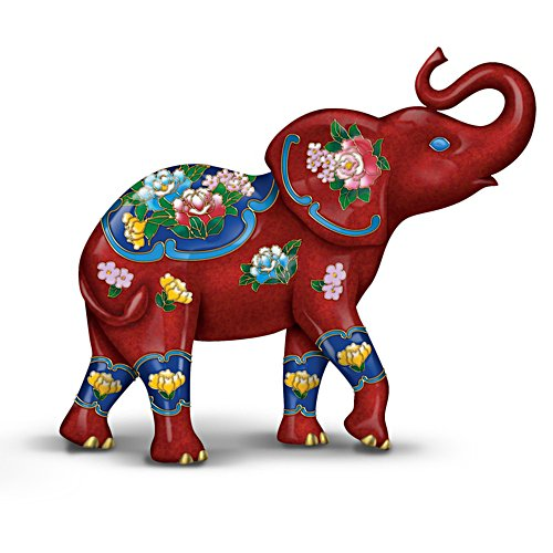 Cloisonné Elephant Figurine