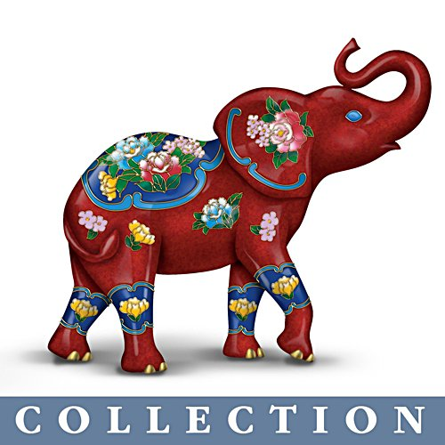 'Eclectic Elegance' Elephant Figurine Collection