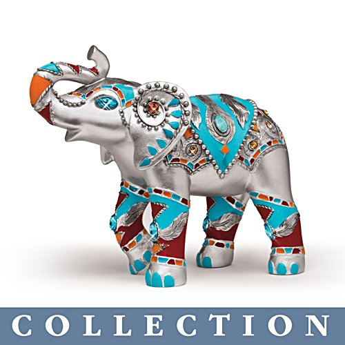 'Jewels Of The Sedona' Elephant Figurine Collection