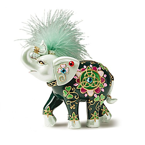 'Cheerful Companion' Elephant Figurine