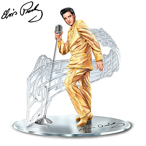 'Treasured Reflections Of Elvis Presley™' Sculpture