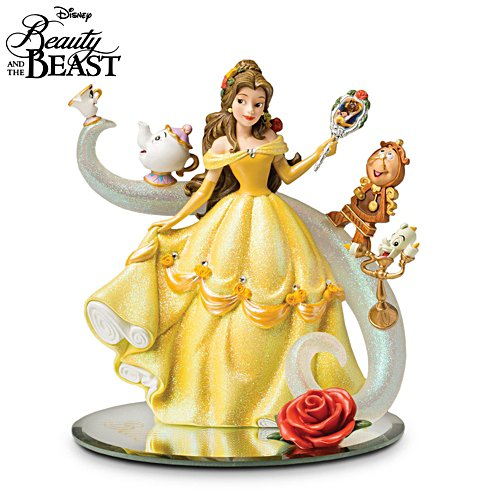 Disney Beauty And The Beast 'A Tale Of Enchantment' Figurine