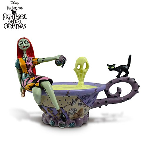 Disney Tim Burton's The Nightmare Before Christmas 'Cheers To Fears' Figurine