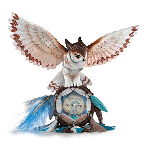Jody Bergsma 'Always Follow Your Own Path' Owl Figurine