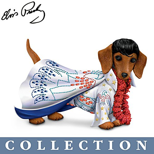 Elvis™ 'Paw-esley Dachshund' Figurine Collection