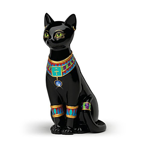 Blake Jensen 'Pharaoh Of The Night' Cat Figurine