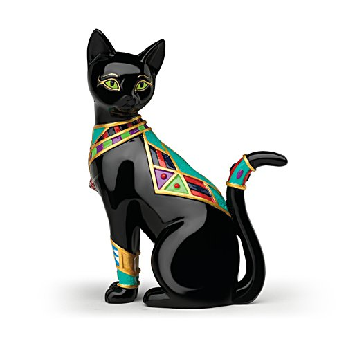 Blake Jensen 'Golden Goddess' Cat Figurine