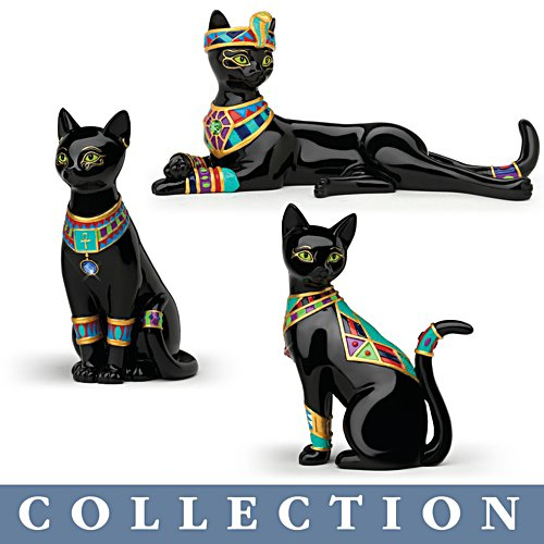 'Egyptian Treasures Of Purr-fection' Figurine Collection