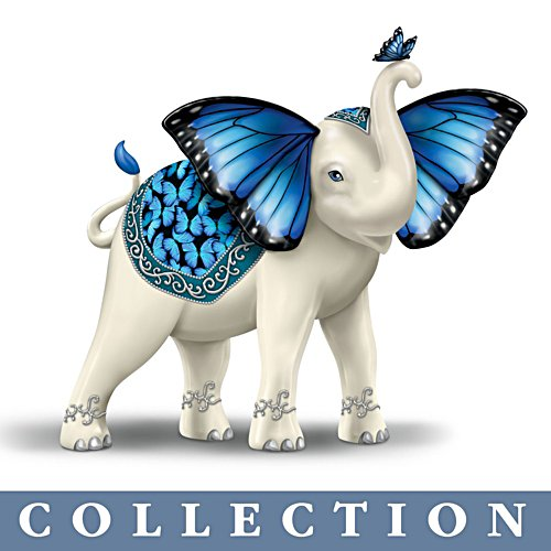 Wings Of Enchantment' Elephant Figurine Collection