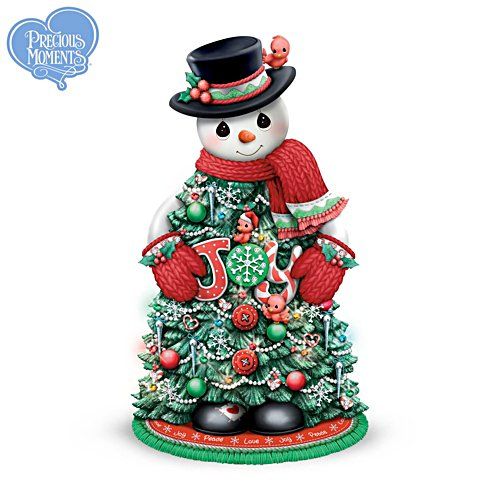 Precious Moments® 'Snow Much Christmas Magic' Snowman Tree