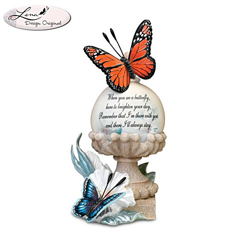'Always Near And Very Dear' Remembrance Butterfly Figurine
