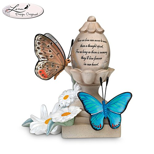 'You Are Forever In My Heart' Remembrance Butterfly Figurine
