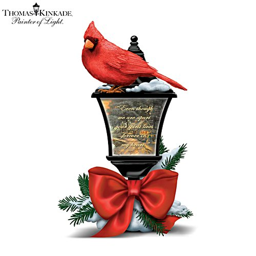 Thomas Kinkade 'Your Spirit Lives Forever In My Heart' Illuminated Lantern