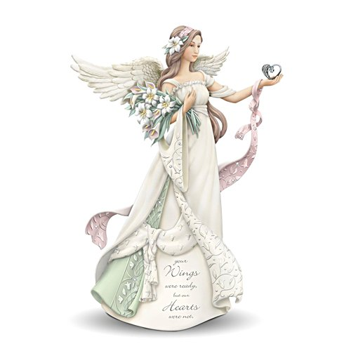 'Your Wings Were Ready, But Our Hearts Were Not' Angel Figurine