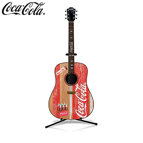 COCA-COLA® 'A Refreshing Tune' Guitar Sculpture
