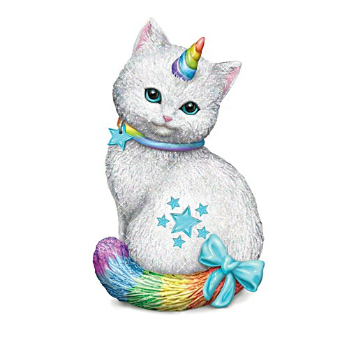 'Starlight Caticorn' Cat Figurine
