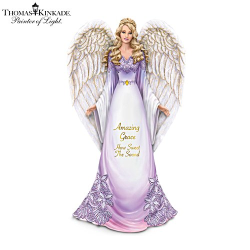 Thomas Kinkade 'Amazing Grace, How Sweet The Sound' Figurine