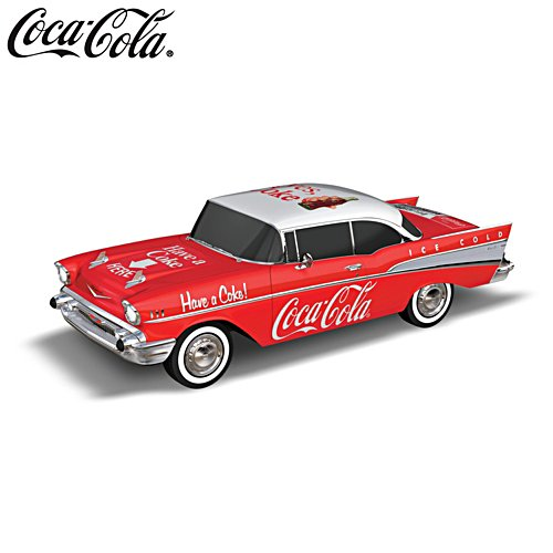Coca Cola 'Refreshingly Classic' 957 Chevrolet Bel Air® Sculpture