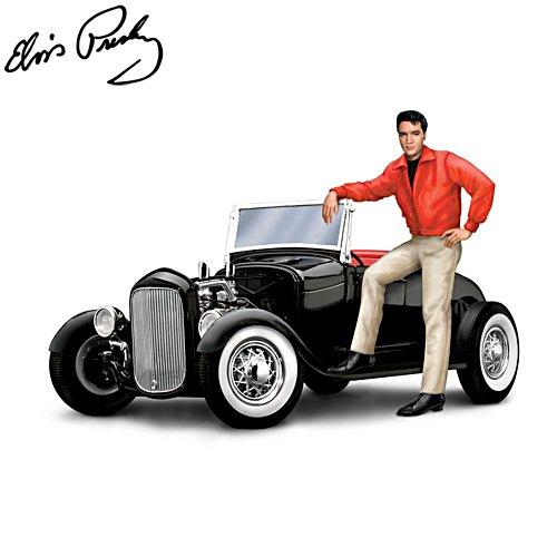 Elvis Presley's™ 'Rockin' Roadster' - skulptur