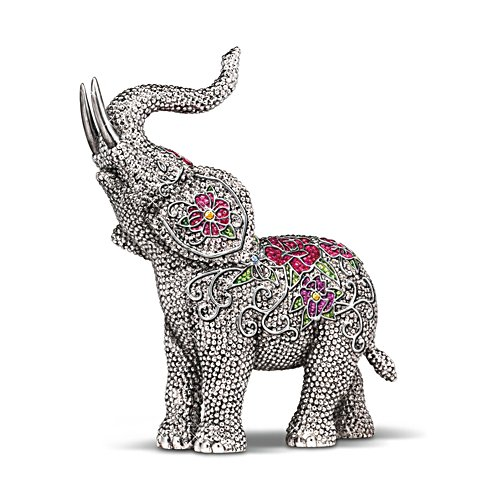 'Legends Of Fortune' Elephant Figurine