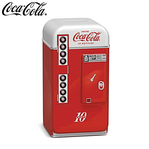 COCA-COLA® 1950s-Style Vending Machine Coin Bank
