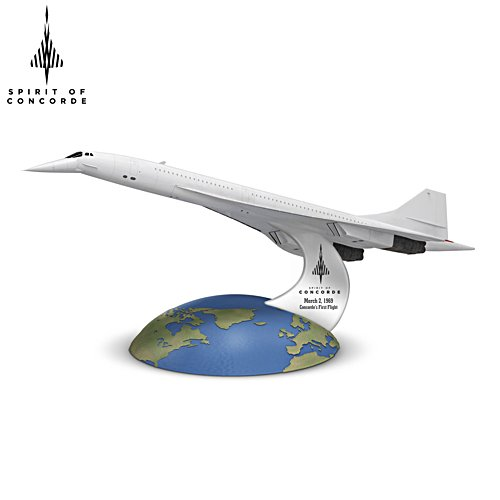 'Spirit Of Concorde' 50th Anniversary 1:250-Scale Sculpture