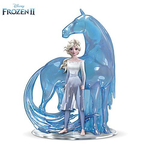 Vertraue Deiner Reise – Frozen-Skulptur
