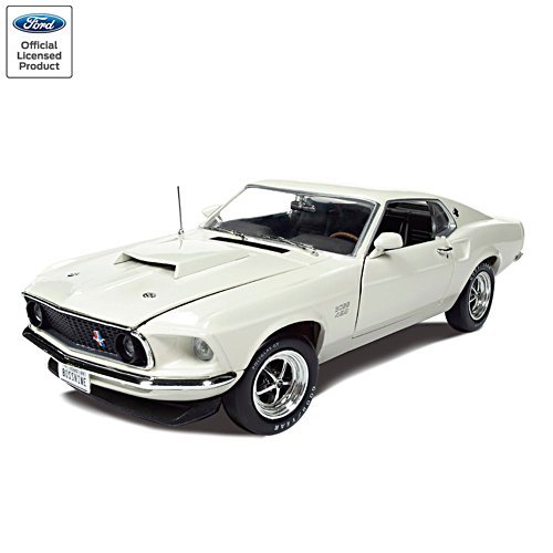 1:18-Scale Ford Mustang Boss 429 Fastback Diecast Car